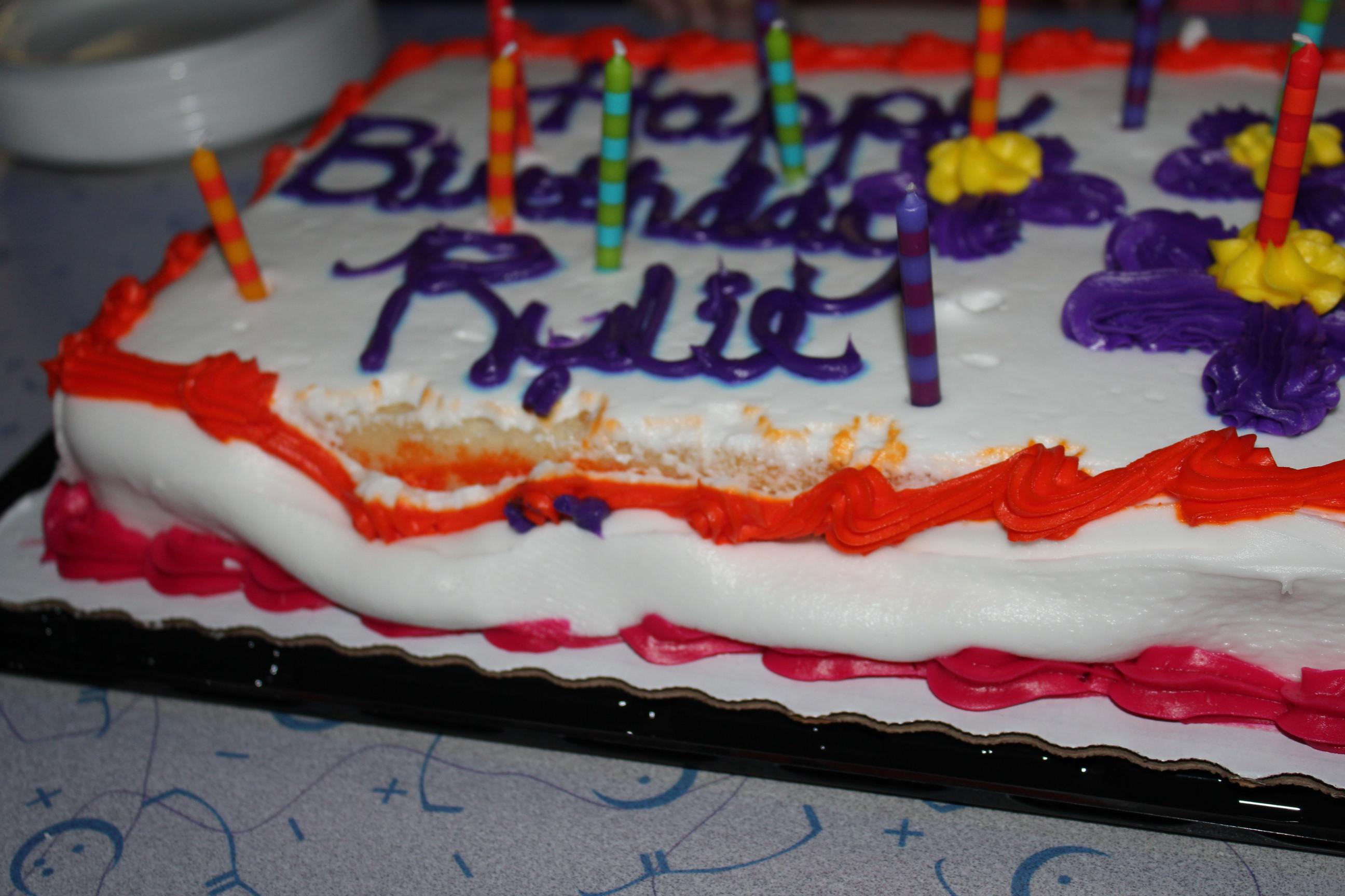 Rylie's Cake 2013